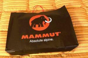 マムートのバックパックを買っちゃいました…