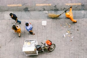 ミニマリストの掃除のルーティーン